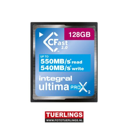 Integral 128GB CFast 2.0 Ultima Pro X 3666x 550mb/s read/540mb/s write