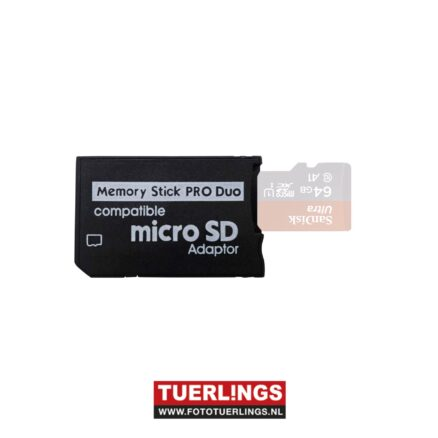 Micro sd naar Memory Stick Pro Duo Adapter