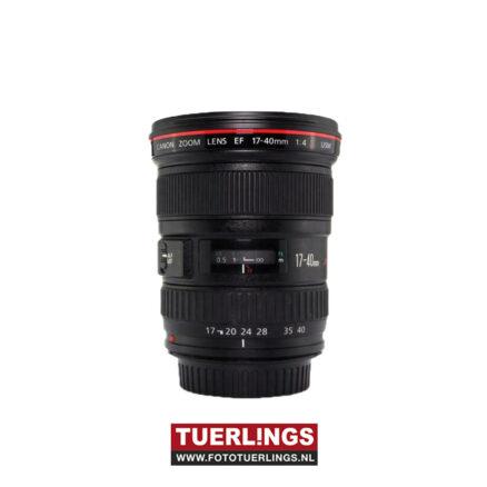 Canon EF 17-40mm F4 L USM occasion