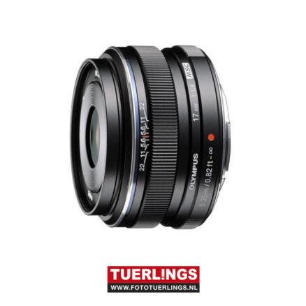 Olympus MFT 17mm F1.8 zwart M.Zuiko Digital occasion